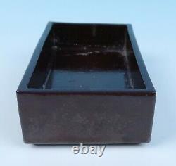 Vintage WAYLANDE GREGORY Mid-Century Modern Original Signed Studio Pottery Box