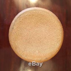 Vintage Warren MacKenzie 7 1/8 H X 4.75 D Studio Pottery Vase Circa 1982 Marked