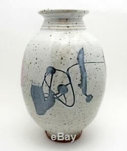Vintage Wayne Ngan Studio Canadian Art Pottery Vase