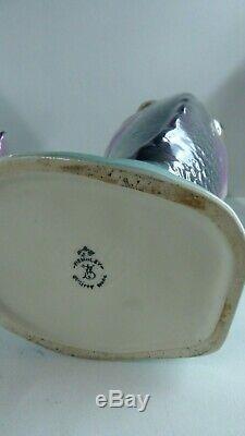 Vintage Wembley Ware Dhu Fish Vase Australian Studio Pottery