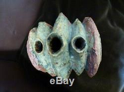 Vintage retro Bernard Rooke Ceramic pottery Vase vessel sculpture Stoneware 1960