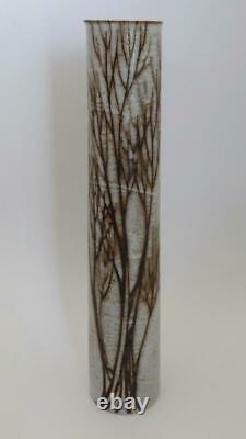 Vtg 16 Andersen Design Studio Maine Midcentury Modern Pottery Tree Branch Vase