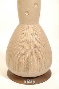 Vtg 1960s/70s DANISH Mid Century MODERN Studio POTTERY Lamp MARTZ Marshall ERA