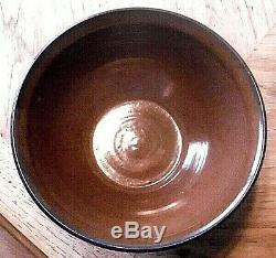 Vtg 1992 Charles Smith Sgraffito Studio Pottery Bowl(Mobile, Alabama)