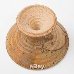 Vtg Dora De Larios Studio Art Pottery Vase 11.5 Clay Handcrafted Los Angeles CA