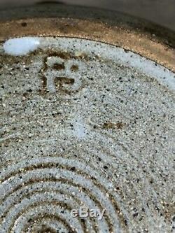 Vtg Frances Senska Bozeman Montana Studio Pottery Lidded Bowl Archie Bray