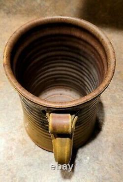 Vtg JOHN GLICK Plum Tree Abstract Expressionist studio POTTERY Mug Cranbrook
