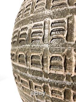 Vtg Large Studio Pottery Ceramic Table Lamp Cressey Kinzie Mid Century Modern