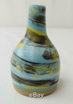 Vtg MCM 1950's Marshall Studios Pottery Gordan & Jane Martz Bottle Bud Vase M80