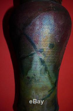 Vtg MID Century Eames Era Modern Art/studio Pottery Vase Anchor