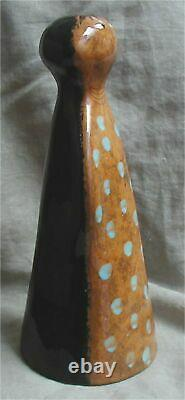 Vtg. Mid-Century Modern Edmund Ronaky JARU Studio Art Pottery Abstract Figure