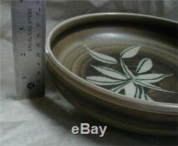Vtg. Mid-Century Rupert Deese Pottery Studio Ceramic Art Bowl