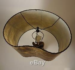 Vtg RETRO Mcm 1950s EAMES Majestic Era FAIP Art Studio POTTERY Atomic Table LAMP
