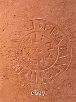 Vtg Signed FRATANTONI for VIETRI PARROT Studio Art Ceramic Wall Plaque Tile