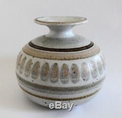 Vtg Signed Robert Maxwell California MidCentury Modern Studio Pottery Vase #210