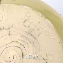 Vtg Studio Keramik Vase Balzar-Kopp, MCM German Art Pottery signed UNIKAT 1960er