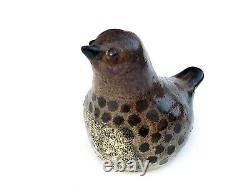 Vtg Tommy Kakinuma Studio Art Pottery Bird MCM Ceramic Sculpture Canadian Artist