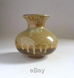 WAISTEL COOPER Vintage Ash Glazed Stoneware VASE. Britsish Studio Ceramics