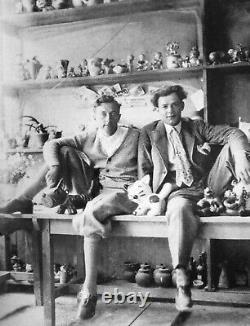 Walter Bosse ceramic cat vintage mid-century Karlsruher Majolika Austria MCM