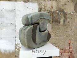 Wolfgang Heyne Studiokeramik Großes Objekt'69 German Studio Pottery MID Century